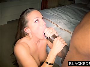 BLACKEDRAW Abigail Mac's husband Sets Her Up With fattest big black cock In The World