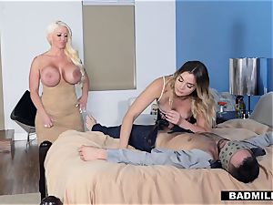Blaire gets some hook-up advice from her stepmom