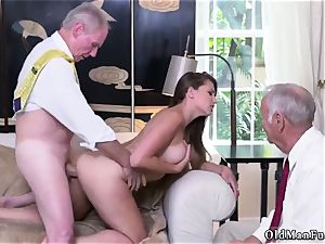 pound his elder friend playfellow s step-sister Ivy makes an impression with her meaty joy bags and backside