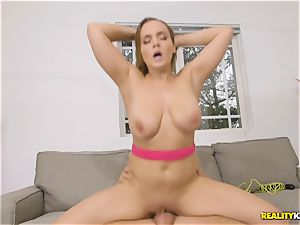 rigid pulverize after good stretch for Natasha lovely