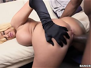 Summer Brielle gets her tight snatch rammed by Prince and his thick weenie