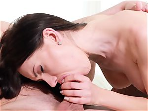 scorching european whore Sasha Rose gets ass-fucked stiff