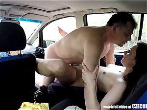 Sheriff Mirek Buying Street call girl for bum gobbling
