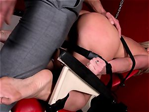 Kathia Nobili is taking a roped up plowing