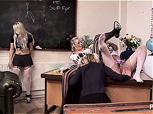 gang bang-out with college girls and schoolteacher
