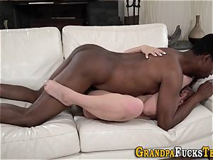 nubile munches black oldy
