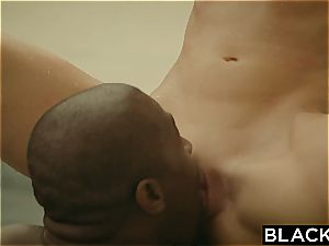 first-ever interracial for ultra-kinky Ally Tate