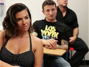 Veronica Avluv showcases hot nymphs how to spray