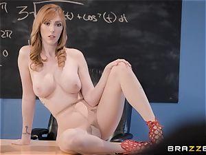 Tyler plows his steaming ginger cougar teacher Lauren Philips