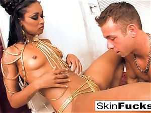 goddess of the Damned strokes his rod