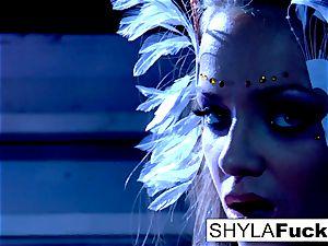 chesty Nika serves Shyla's commands