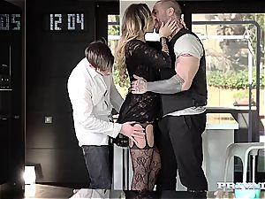 spectacular lingerie stunner Anna Polina gets plowed
