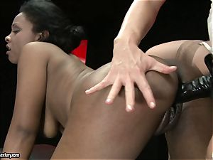 sizzling Kathia Nobili luvs pounding her colleagues cooch rock hard from behind