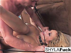 Shyla's hard ass fucking boink and a facial