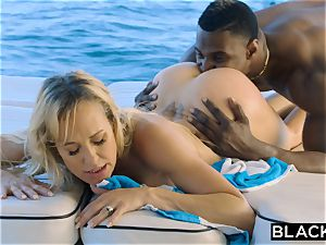 BLACKED Brandi love hankers big black cock Vacation