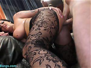 Ashley jizz star in mischievous fuck-fest