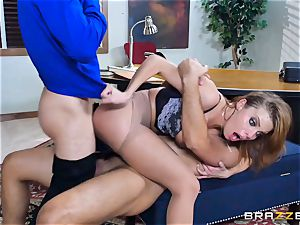 Britney Amber getting fucked in her donk and beaver