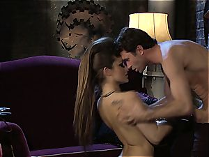 Dani Daniels implementing cogs and cocks in her steampung wish