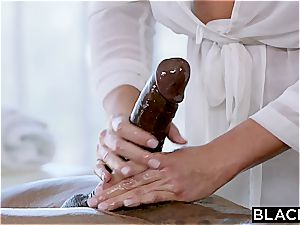 Fit man rod for lewd Samantha Saint and her cock-squeezing labia