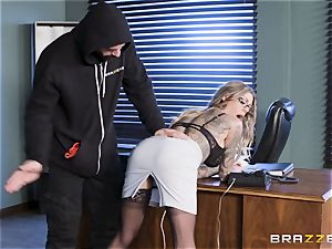 Karma Rx takes cunny humped in the office