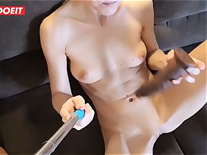 horny husband Always loved To Share His blond wifey