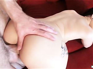 newly wed Katrina Jade is well-lubed up and screwed by her fresh husband
