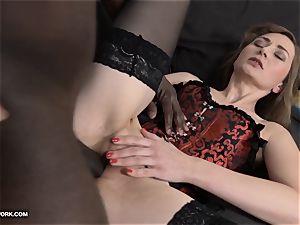 cougar ass-fuck orgy with ebony stud shrieking in sensation bbc