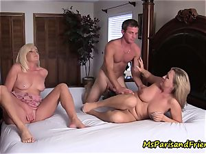 aunt-in-law nephew Taboo as mommy watches