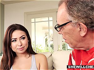SheWillCheat- cheating hubby observes super hot wifey pound bbc