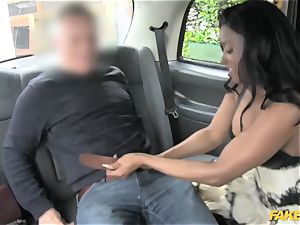 fake taxi dark-hued gets down and dirty