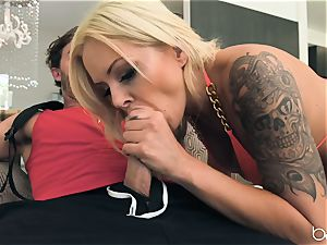 NIna Elle ass fucking pounded nuts deep