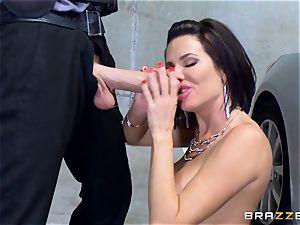 insane mature Veronica Avluv bent over and plumbed