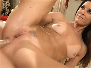cougar India Summers gets analled in the shower