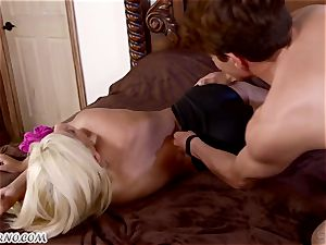 junior secretary smashes his buxom latin dominatrix Bridgette B