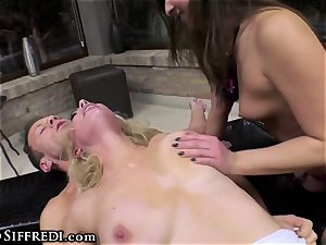 Rocco Siffredi and Kelly Stafford harshly dominate ass