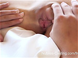 Nubiles casting - little hooter stunner tries out for porn