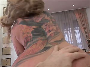 super-steamy light-haired Kayla Green stuffed by Rocco Siffredi