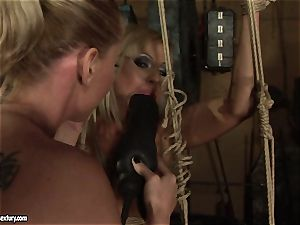 Kathia Nobili love romping the red-hot gal with dildo