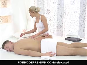 RELAXXXED - cherry kiss gives rubdown and gets plowed