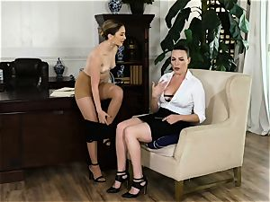 pussy profits are thru the roof with Jane Wilde and milf Dana DeArmond