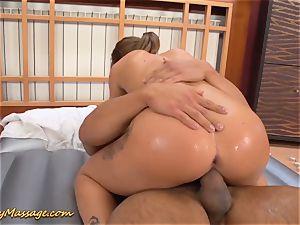 greasy nuru massage couple