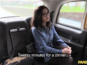 faux taxi spanish stunner has excellent mammories and donk